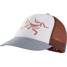 Arc'teryx Bird Päähine , ruskea/valkoinen